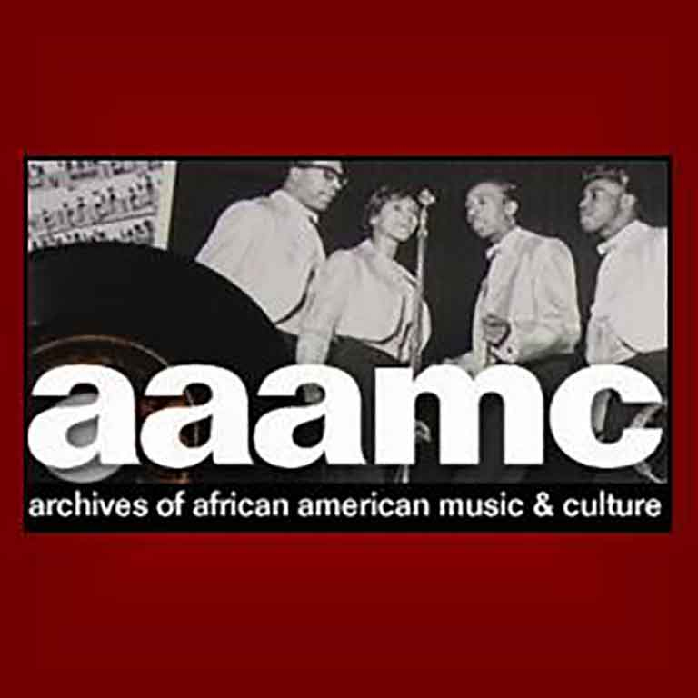 Logo of the Archives of African American Music and Culture