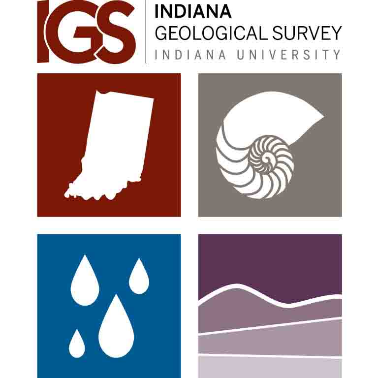 Logo of the Indiana Geological Survey
