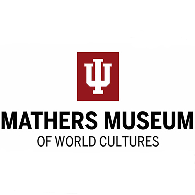 Logo of the Mathers Museum of World Cultures.